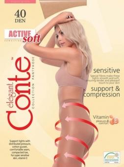 ACTIVE  SOFT 40 (с пилочкой для ногтей) (64/10)
