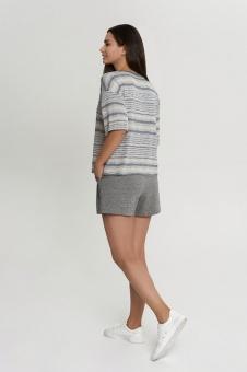 OXO-1547 Комплект футболка/шорты жен. мод. 22