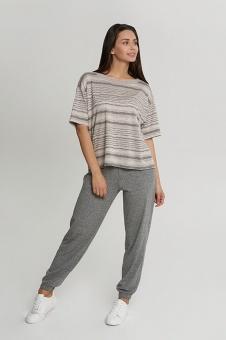 OXO-1553 Комплект футболка/брюки жен. мод. 23